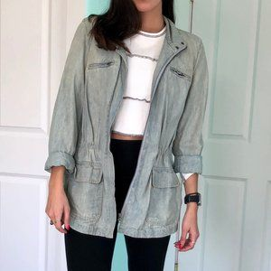 Light Chambray Spring Jacket